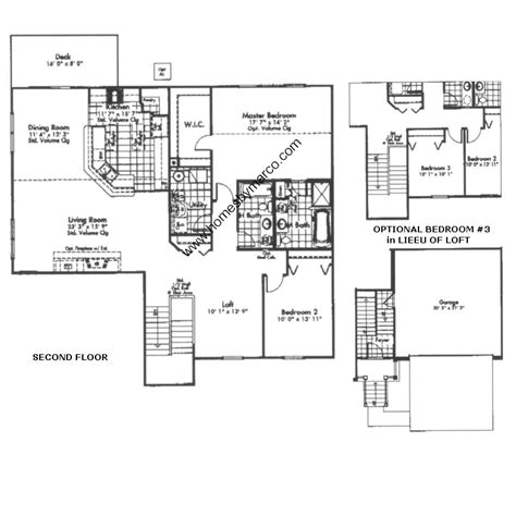canterbury floor plan canterbury model in the hton glen subdivision in plainfield illinois homes by marco