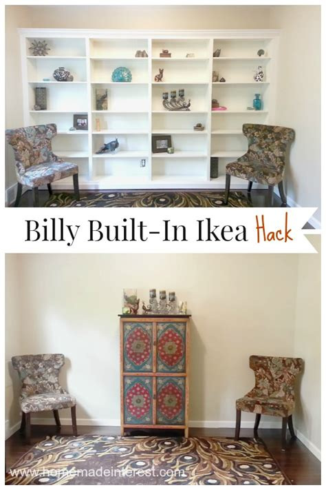 ikea bookcase built in hack 5 beautiful diy decor ideas setting for four