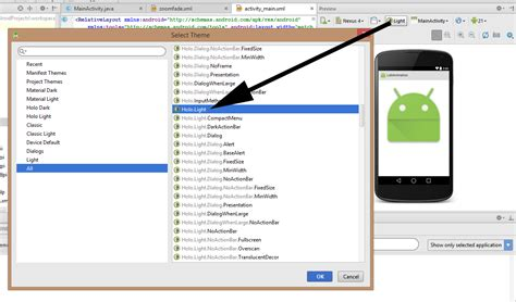 android studio layout preview not showing android studio not showing title bar in preview stack