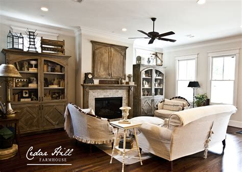 living room decorating ideas on house tour living country farmhouse style home tour debbiedoos