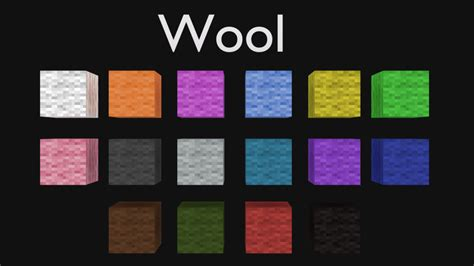 wool colors minecraft blender minecraft wool blocks cycles only free 3d model