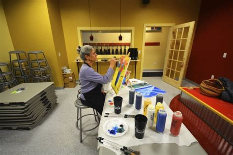 paint with a twist traverse city wine paint business record eagle