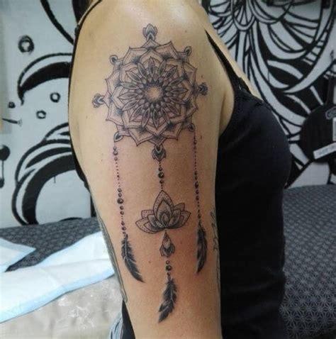 tattoo mandala dreamcatcher 130 mandala tattoos designs with meanings 2018