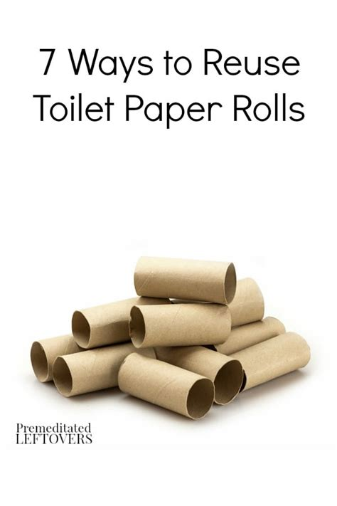How To Make Starters With Toilet Paper Rolls - 7 ways to reuse toilet paper rolls