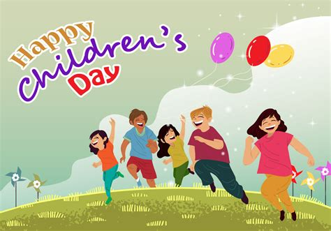 s day vector childrens day card vector free vector