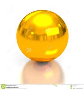 gold sphere royalty free stock photos image 27223778