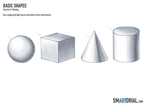 lshade shapes smartorial com rendering basic shapes in prismacolor