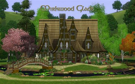 Houses With 2 Master Bedrooms mod the sims mirkwood glade an elven dwelling