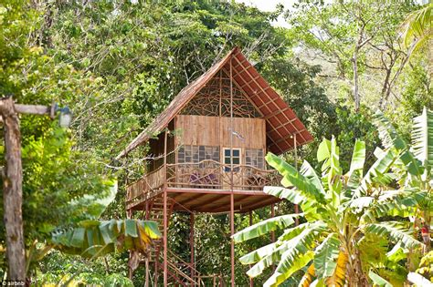 costa rica tree house fancy spending a night in a boot shaped house or a clock tower in central london the
