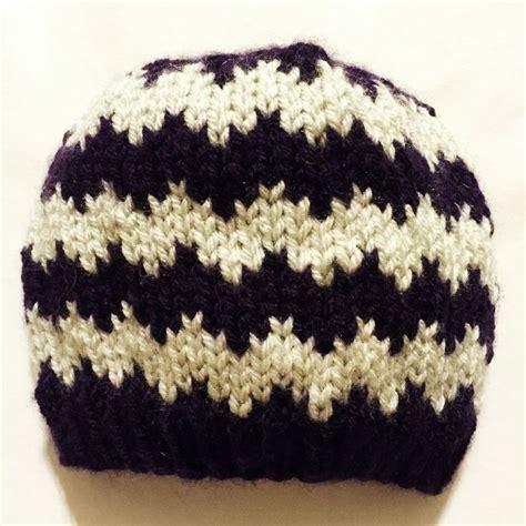 hat pattern pinterest free knitting pattern quick knit chevron baby hat