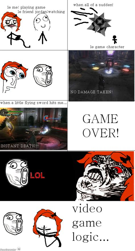 Video Game Logic Meme - video game logic meme 28 images video game logic by