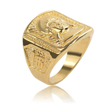 aliexpress buy big size 18k gold plated s rings