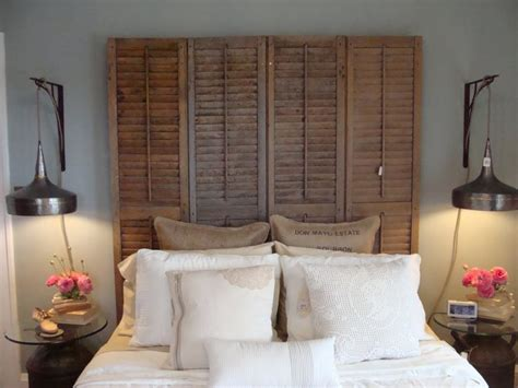 headboard made from shutters headboards made with old shutters shutters pinterest
