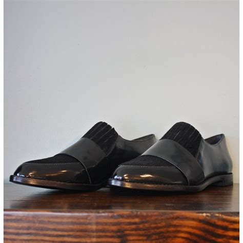 loafer randall lyst loeffler randall rosa oxfords in black