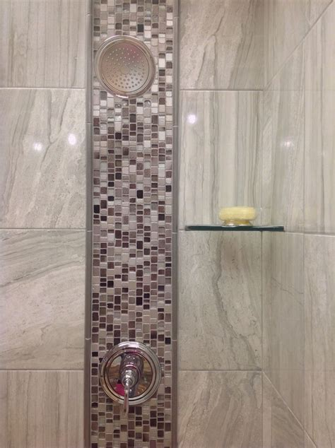Mosaic Tile Installation Shower Tile Installation Featuring Milstone Irregular Mosaics And Ege Terra Tile Arley