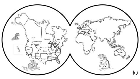 art world map coloring pages