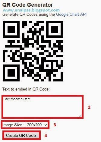 membuat qr code scanner sendiri cara membuat barcode sendiri enalpas blog