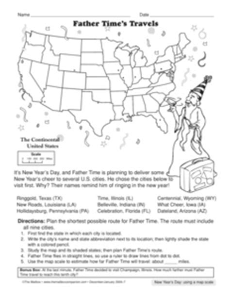 Using Scale On A Map Worksheet by Results For Map Skills Worksheet Guest The Mailbox