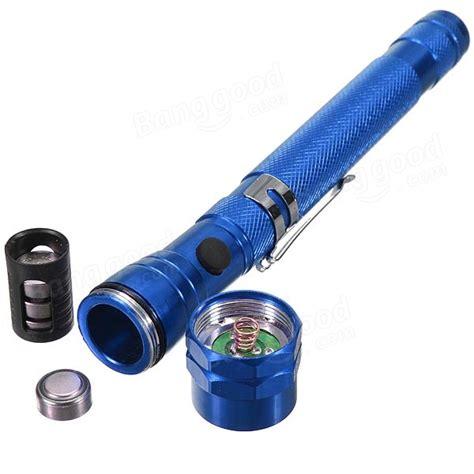 Led Telescopic Magnetic Up Flashlight Hitam 3x Led Telescopic Magnetic Up Led Flashlight