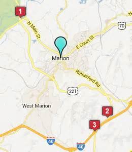 marion carolina map marion nc hotels motels see all discounts