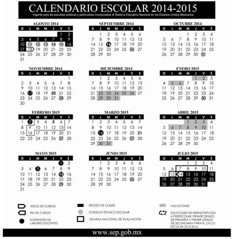 Calendario Sep 2015 Y 2016 Dof Diario Oficial De La Federaci 243 N