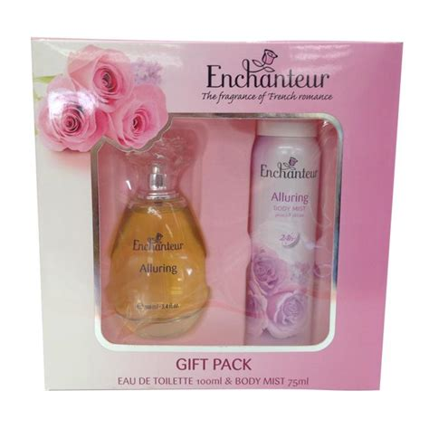 GIFT PACK   Enchanteur Perfume 100ml & Body Spray 75ml