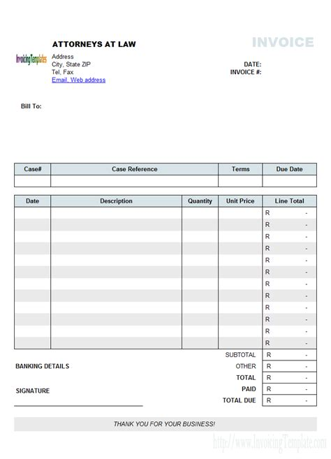 firm invoice template billing software excel free