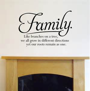family wall quotes quotesgram personalised quote wall sticker by oakdene designs