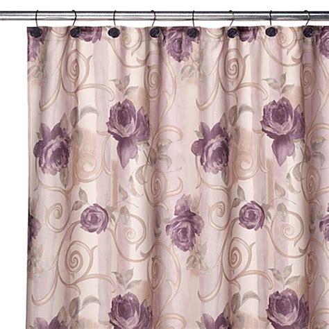 discontinued shower curtains croscill chambord shower curtain and hook set bed bath