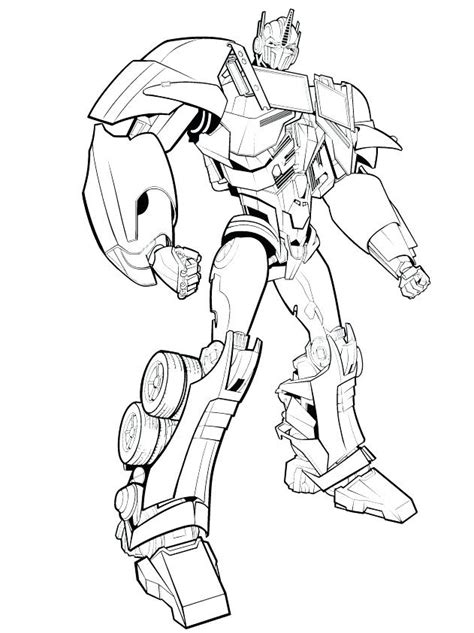 Transformers 5 Coloring Pages by Transformers Robots In Disguise Coloring Pages Collection