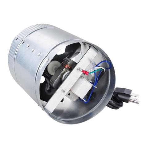 duct booster fan 4 quot 6 quot 8 quot upgrade inline duct fan blower high cfm