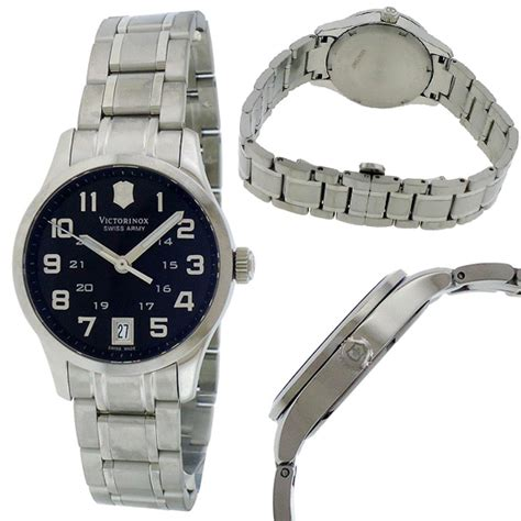 Swiss Army Sa0129 Silver Black List Blue victorinox swiss army watches