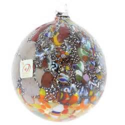 christmas tree ornaments venetian mosaic murano glass