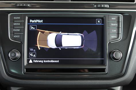 einparkhilfe park pilot front heck inkl ops vw tiguan ad