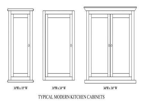 kitchen cabinet depth average cabinet width kitchen
