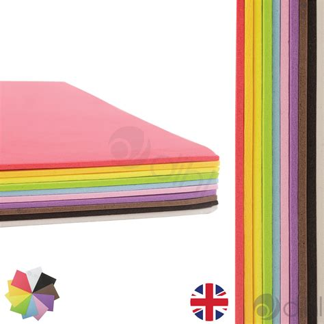 crafts with foam sheets for a4 foam craft sheets project thick assorted colour