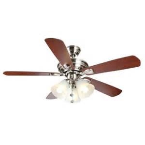 ceiling fans with lights home depot hton bay westmount 44 in 3 light brushed nickel