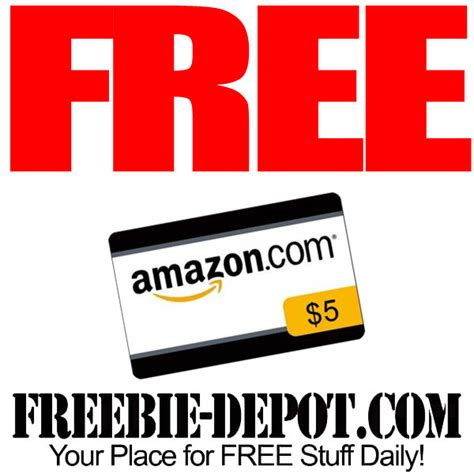 Free Amazon Gift Cards App - free 5 amazon gift card when you get the amazon app thru 7 12 16 freebie depot