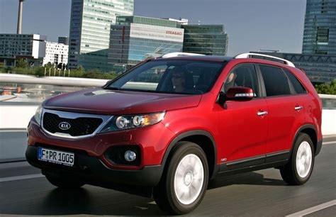 kia sorento 2009 2012 reviews technical data prices