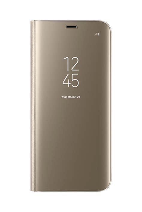 Samsung S8 Gold Second official samsung galaxy s8 gold clear view cover ef zg950cfegww 8806088686967 ebay