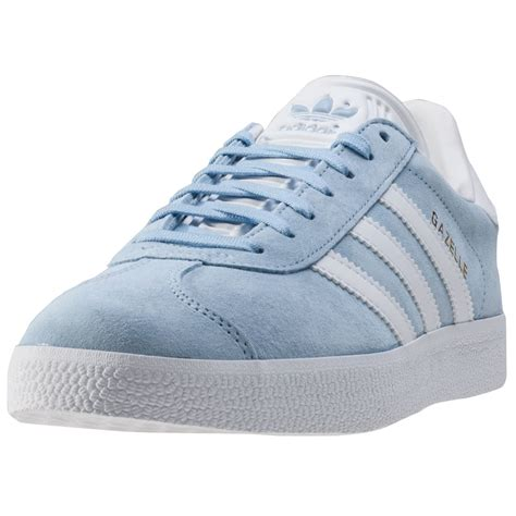 light blue adidas shirt adidas gazelle mens trainers light blue new shoes ebay