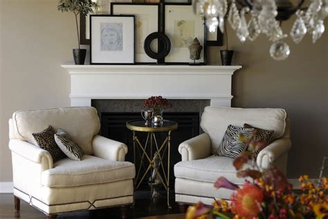 Seating In Front Of Fireplace by Fireplace Vignette Design Ideas
