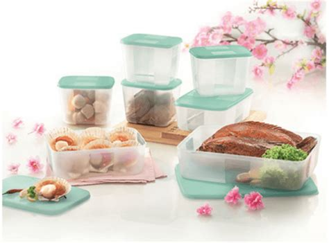 Seal Tupperware Medium Freezermate raya freezermate set 7 tupperware plus