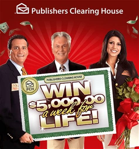 publish house pch win 5000 a week for life sweepstakes sweeps maniac