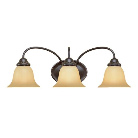 colonial bathroom lighting shop millennium lighting 3 light 8 25 in colonial bronze