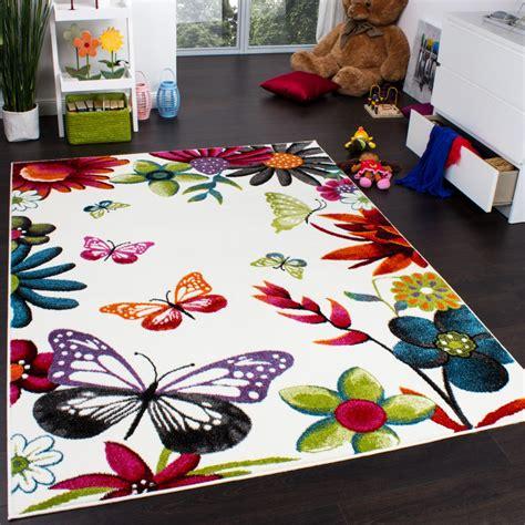 tapis chambre d enfant tapis chambre d enfant papillons multicolore cr 232 me