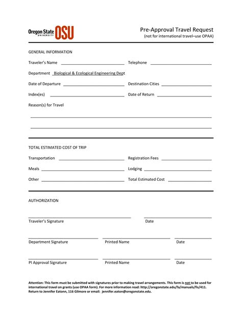 travel request form template word form travel request form