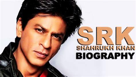biography book of shahrukh khan srk shahrukh khan biography श हर ख ख न ब य ग र फ
