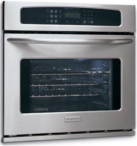 Cleaning Stainless Steel Oven Racks by Frigidaire Pleb30s9fc Wall Oven Electric Single 30 Inches