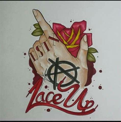 mgk lace up tattoo designs lace up fam mgk lace up machine gun